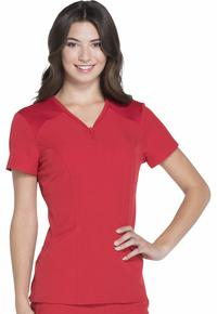 Top by Cherokee Uniforms, Style: HS650-RDHH