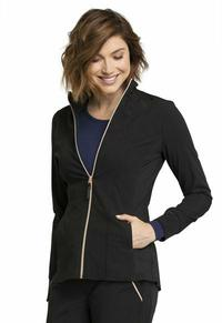 Warm Up Jacket by Cherokee Uniforms, Style: CK365-BLK